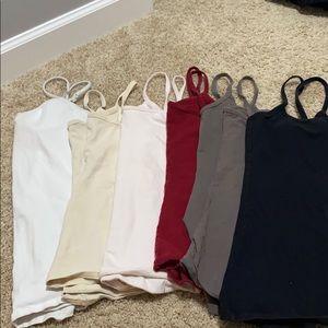 Lot of 6 camis